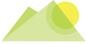 Shen Shiatsu Graz Logo nur Berge